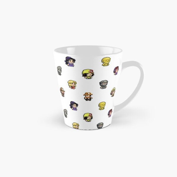 Spelunky 2 Characters Pattern Tall Mug