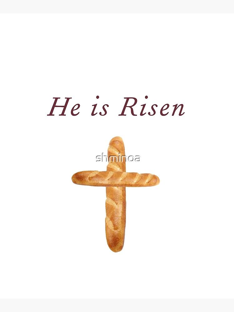 He Is Risen, Shirley's Bread Apron (Community) by shminoa
