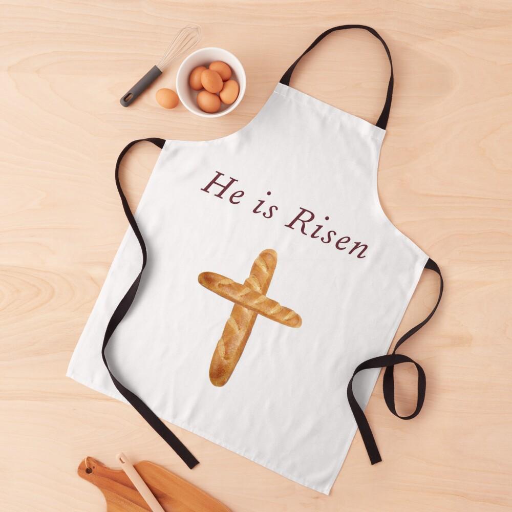He Is Risen, Shirley's Bread Apron (Community) Apron