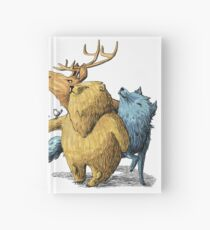 Five friends Hardcover Journal