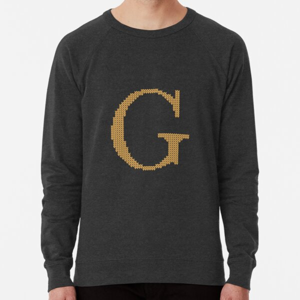 Copy of Weasley Sweater Letter G Lightweight Sweatshirt