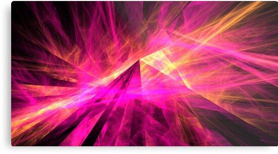 Pyramid Rays by KimSyOk