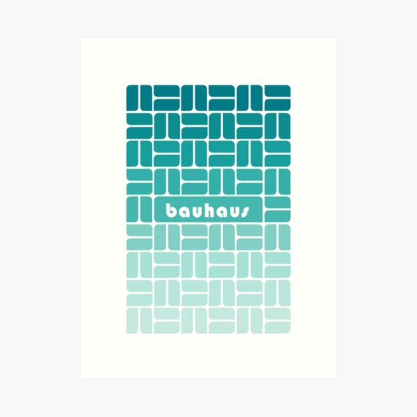 Bauhaus #48 Art Print
