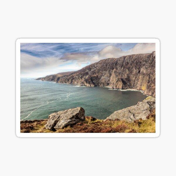 Slieve League cliffs, Donegal, Ireland Sticker