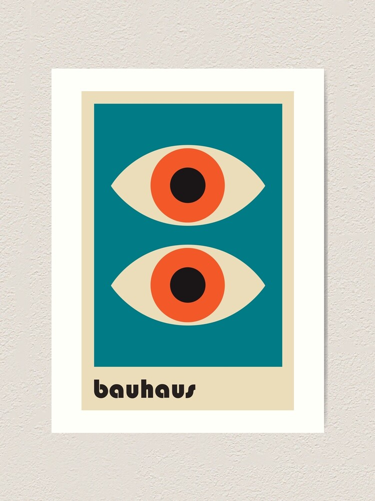 Alternate view of Bauhaus #51 Art Print