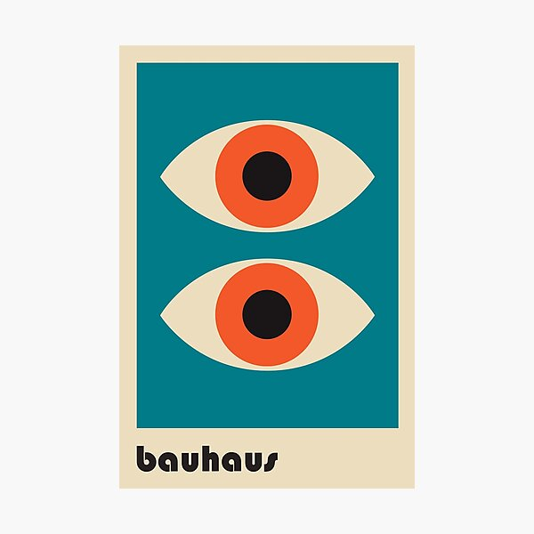 Bauhaus #51 Photographic Print