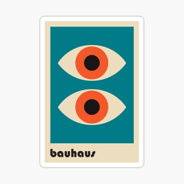 Bauhaus #51 Sticker
