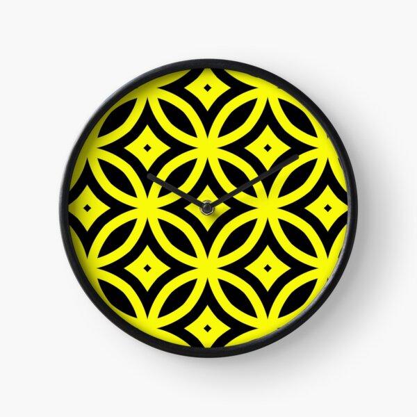 Yellow meet black Clock