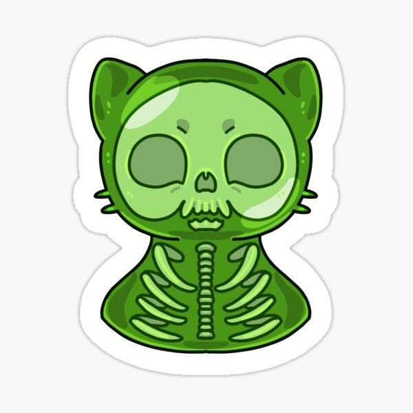 Jelly Cat Sticker