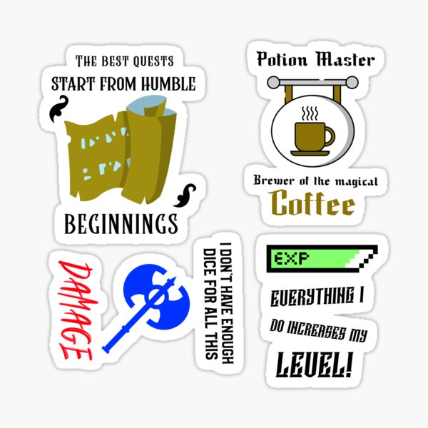 Long Games Inc Meme Sticker Pack 5 Sticker