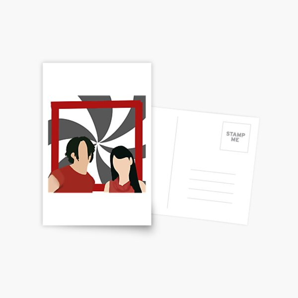 The White Stripes - Jack and Meg Postcard