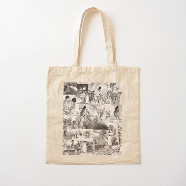 Attaque sur Titan Manga Collage Tote bag classique