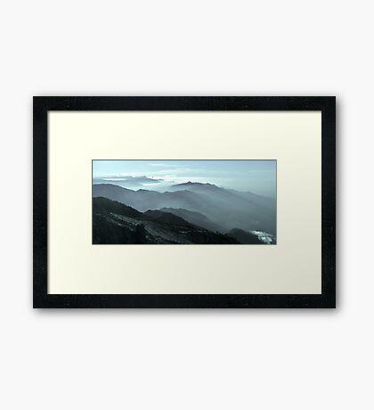 Take a breath... Framed Print