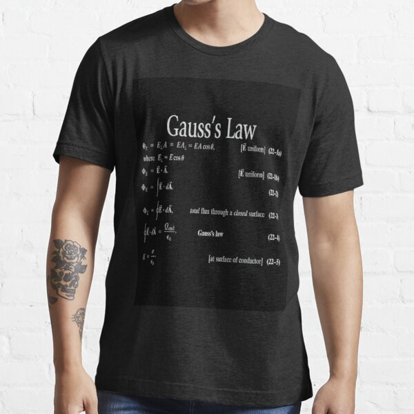 Copy of #Gauss's #Law, #GaussLaw, #Physics, Physics2, GeneralPhysics,  Essential T-Shirt