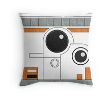 Is BB hungry? No, BB8. Throw Pillow