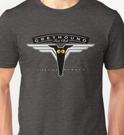 Greyhound Fan Club Unisex T-Shirt
