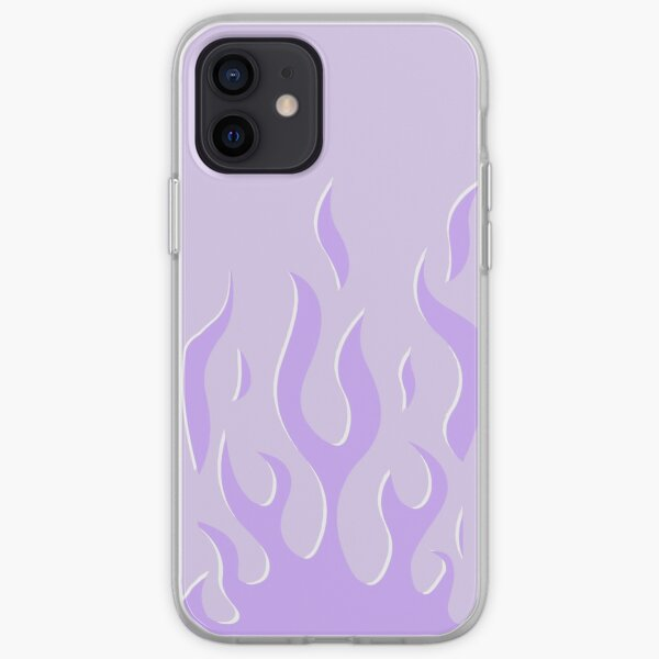 lavender flames wildflower iphone case cute phone cases iPhone Soft Case