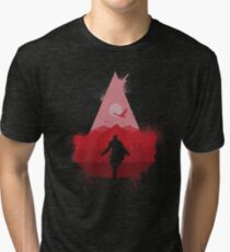 Assasin's eye t-shirt rework Tri-blend T-Shirt