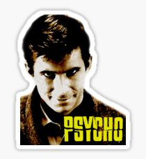 Psycho- Norman Bates Sticker