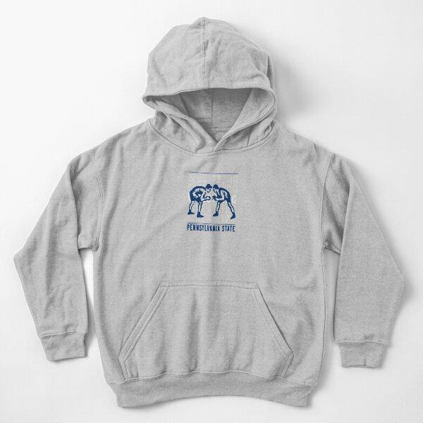 Pennsylvania text Black Kids Sweatshirt
