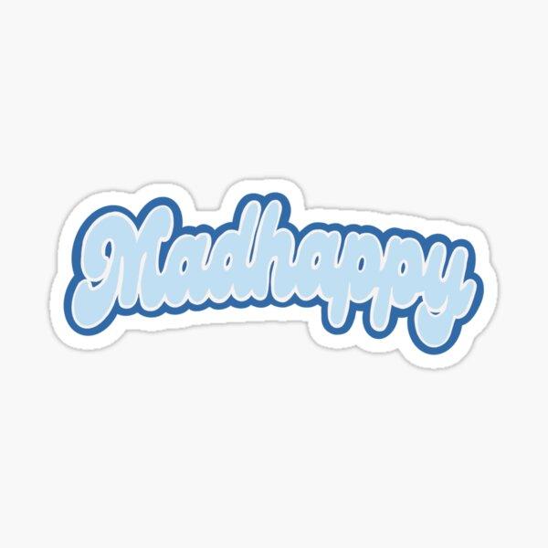 Madhappy Varsity Logo  Sticker