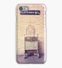 Platform 9 3/4 iPhone Case/Skin