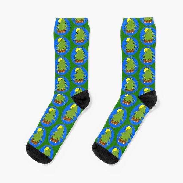 The Great Cedar round Socks