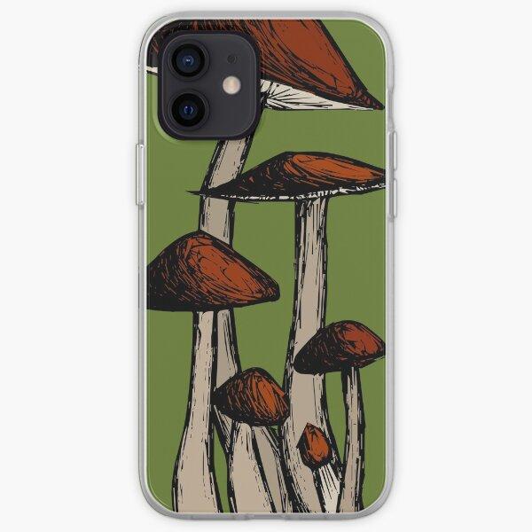 Mushroom Family iPhone Soft Case