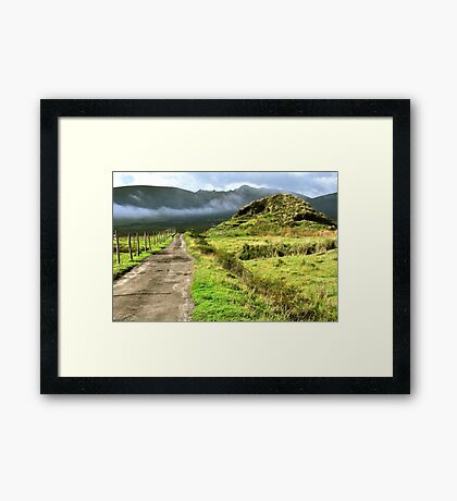 Cotopaxi Afternoon II Framed Print