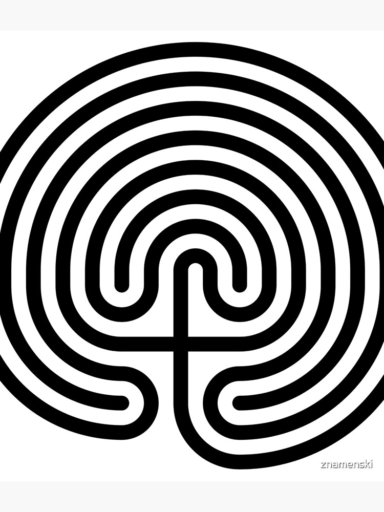 #Cretan, #labyrinth, Cretanlabyrinth by znamenski