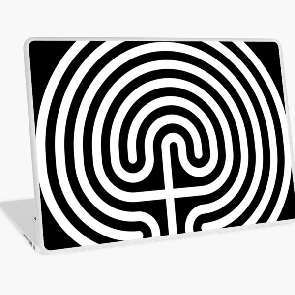 #Cretan, #labyrinth, Cretanlabyrinth Laptop Skin