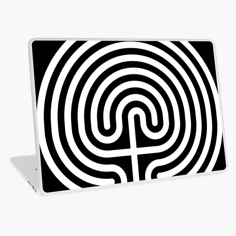 #Cretan, #labyrinth, Cretanlabyrinth Laptop Skin