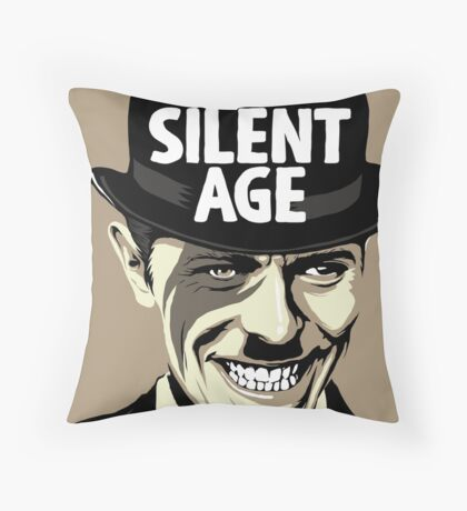 Sons of the Silent Age Throw Pillow