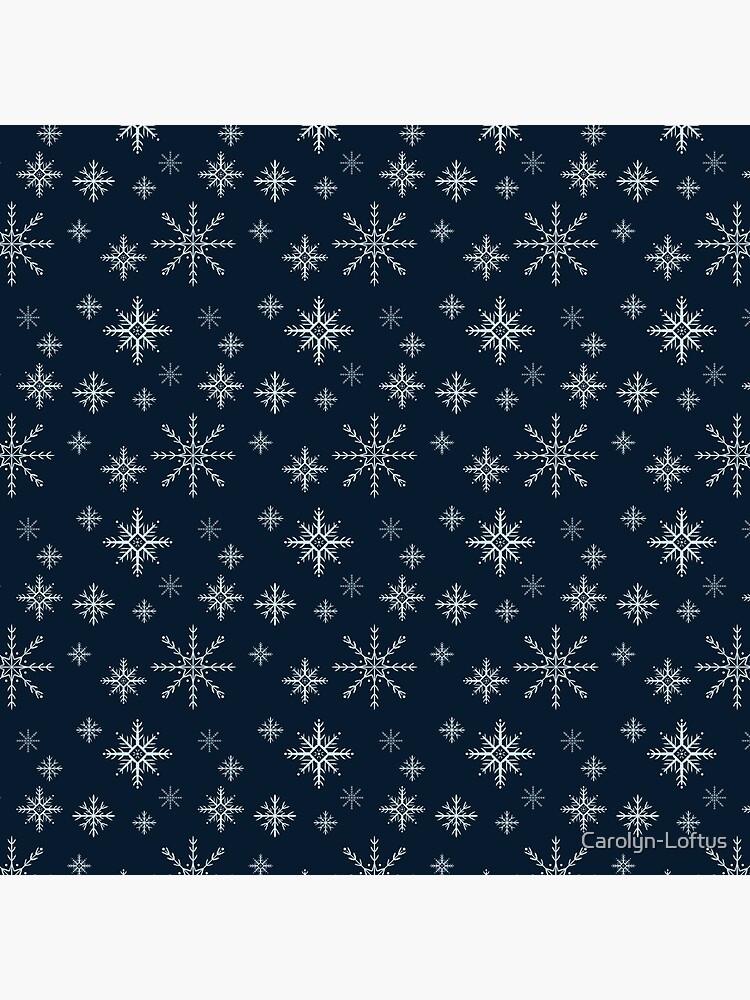 Winter Snowflakes by Carolyn-Loftus