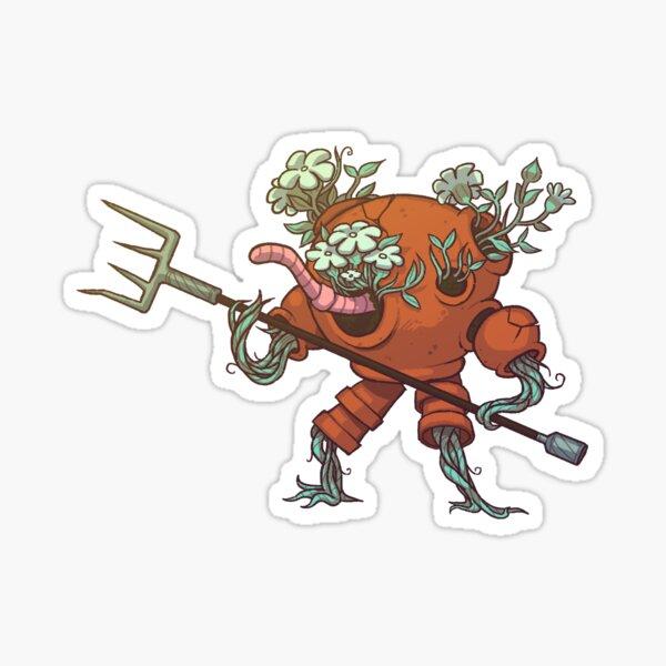 Worm Knight Sticker
