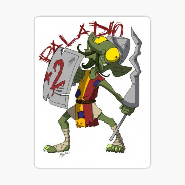 Goblin Paladin Sticker