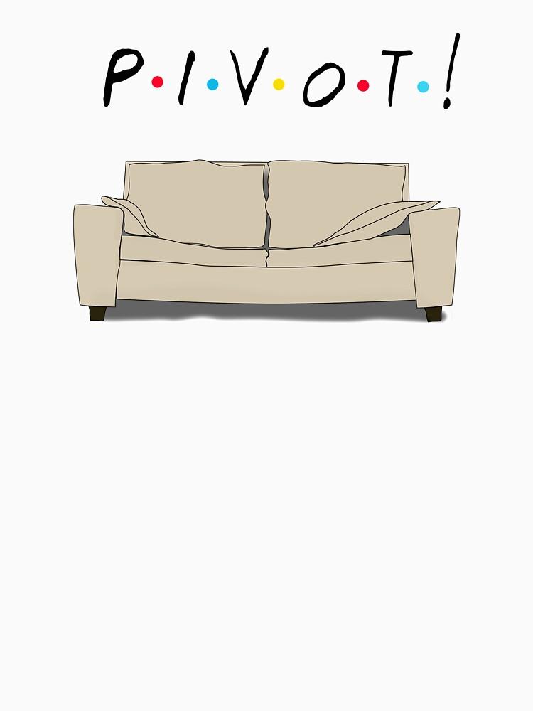 TShirtGifter presents: Friends Pivot | Unisex T-Shirt