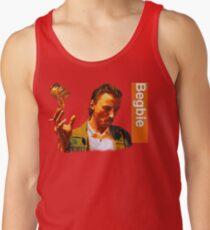 Camiseta de tirantes Begbie arroja Glass of Beer - Escena de la camiseta de Trainspotting