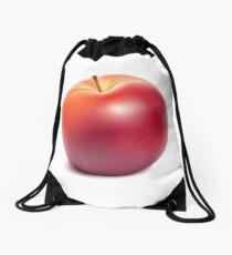 Red Apple II Drawstring Bag