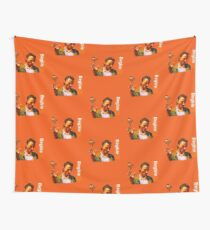 Begbie throws Glass of Beer - Scene from Trainspotting T-Shirt Wall Tapestry