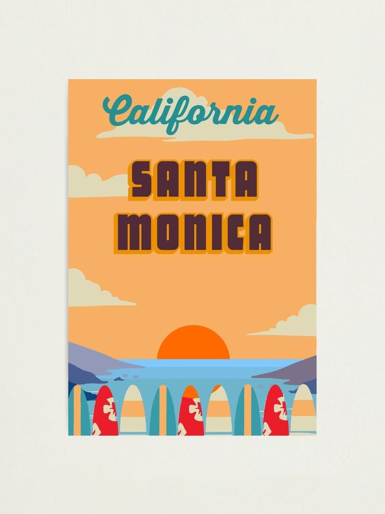 Alternate view of Santa  Monica. Photographic Print