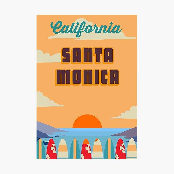 Santa  Monica. Photographic Print