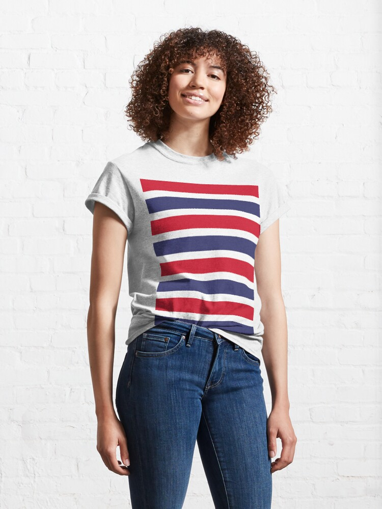 Alternate view of American Stripes Classic T-Shirt
