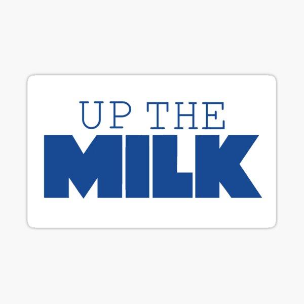 Canberra Raiders Up The Milk Retro Sticker