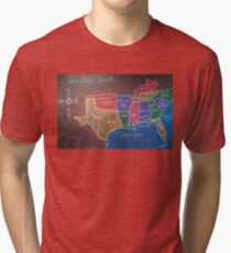 The Deep South Tri-blend T-Shirt