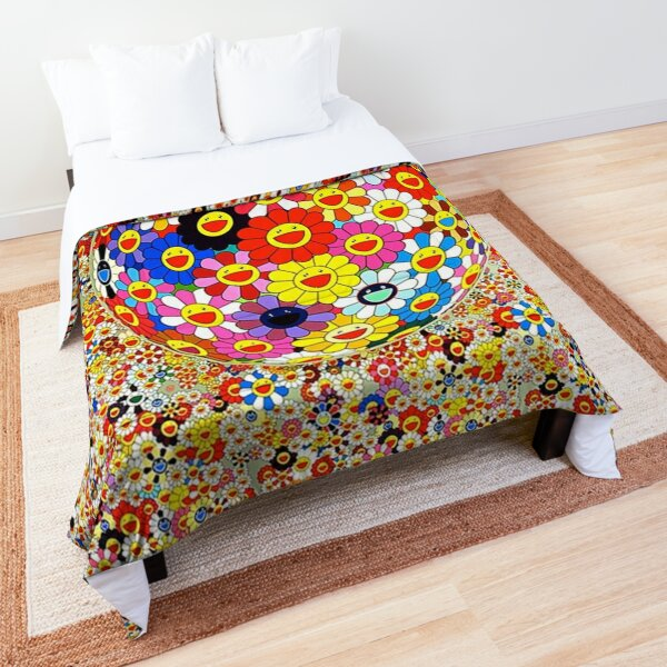 Takashi Murakami Disco Comforter