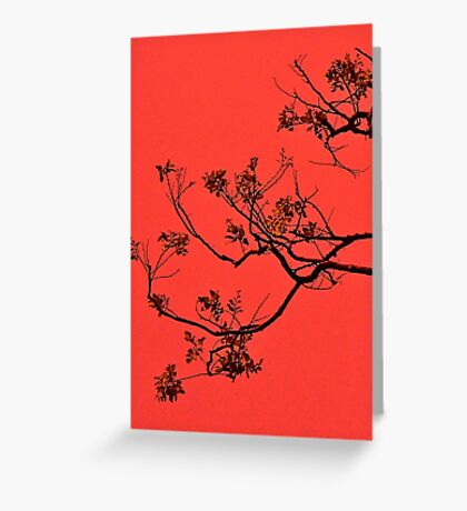 Oriental Greeting Card