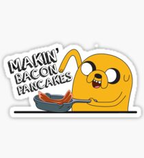 Making Bacon Pancakes Sticker