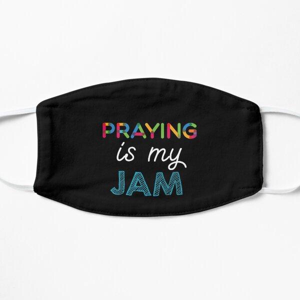 Praying est mon Jam. Dr�le Praying Conception Masque sans plis