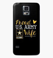 Proud U.S. Army Wife Case/Skin for Samsung Galaxy